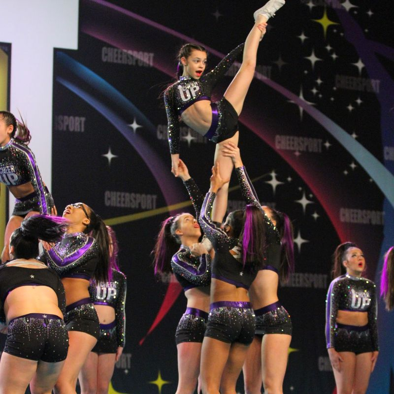 Cheersport competition.